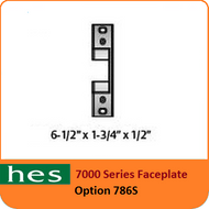 HES 786S Option - 7000 Series Faceplate