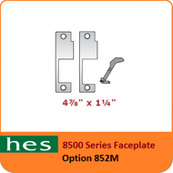 HES 852M Option - 8500 Series Faceplate