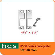 HES 852L Option - 8500 Series Faceplate