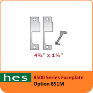 HES 851M Option - 8500 Series Faceplate