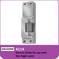 Von Duprin 6114 - Electric Strike for use with Rim Night Latch