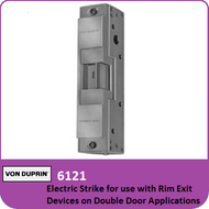 Von Duprin 6121 - Electric Strike for use with Rim Exit Devices on Double Door Applications