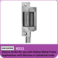Von Duprin 6211 - Electric Strike for use with Hollow Metal Frame Applications with Mortise or cylindrical Locks