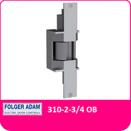 Folger Adam: 310-2-3/4 OB Electric Strike