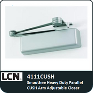 LCN 4111CUSH - Smoothee Heavy Duty Parallel CUSH Arm Adjustable Closer
