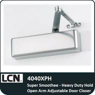 LCN 4040XPH - Super Smoothee-Heavy Duty Hold Open Arm Adjustable Door Closer