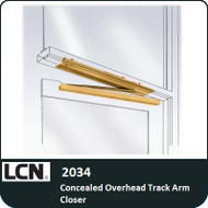 LCN 2034 - Concealed Overhead Track Arm Closer