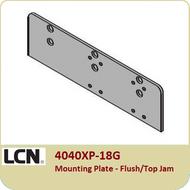 LCN 4040XP-18G Mounting plate - Flush/Top Jam