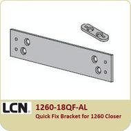 LCN 1260-18QF-AL Quick Fix Bracket for 1260 Closer