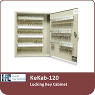 KeKab-120 Locking Key Cabinet by HPC