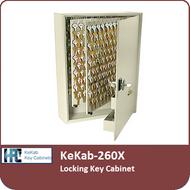 KeKab-260X Locking Key Cabinet by HPC