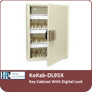 KeKab-DL95X - Key Cabinet With a Digital Lock by HPC