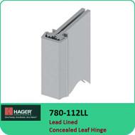 Roton 780-112LL - Lead Lined Concealed Leaf Hinge