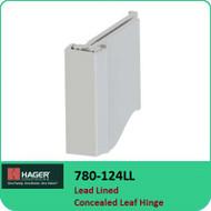 Roton 780-124LL - Lead Lined Concealed Leaf Hinge