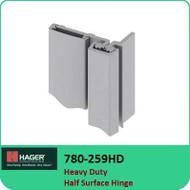 Roton 780-259HD - Heavy Duty Half Surface Hinge