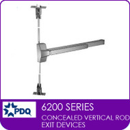 Commercial Concealed Vertical Rod Exit Devices | Grade 1 (GR1) | PDQ 6200 Series