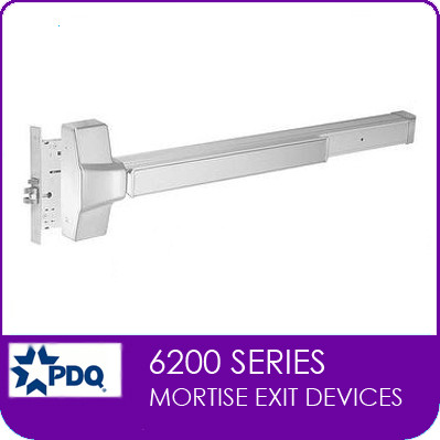Commercial Mortise Exit Devices | Grade 1 (GR1) | PDQ 6200 Series  sc 1 st  Locks and Safes Online.com & Commercial Mortise Exit Devices | Grade 1 | PDQ 6200