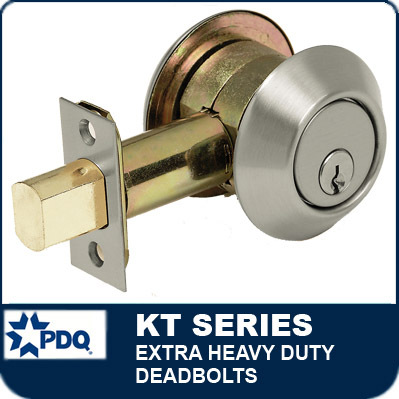 Extra Heavy Duty Deadbolts   PDQ KT Series  sc 1 st  Locks and Safes Online.com & Heavy Duty Deadbolts   PDQ KT Series
