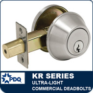 Inexpensive Deadbolts | Ultra-Light CommercialGrade 3 Deadbolts | PDQ KR Series