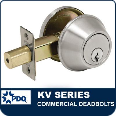Commercial Deadbolts | PDQ KV Series  sc 1 st  LocksandSafesOnline.com & KV Series Commercial Deadbolts from PDQ. pezcame.com