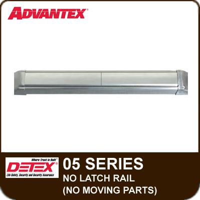Detex Advantex 05 Series W No Latch Rail Amp Moving Parts