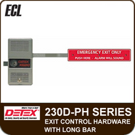 "ECL-230D-PH - Panic Hardware Standard Exit Control Lock w/Long Bar 36"" to 48"" Door Width"
