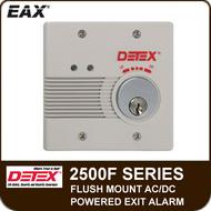 EAX-2500F - Flush Mount AC/DC Powered Wall Mount Exit Alarm
