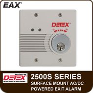 EAX-2500S - Surface Mount AC/DC Powered Wall Mount Exit Alarm