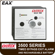EAX-3500 Series - Timed Bypass Exit Alarm and Rechargeable Battery