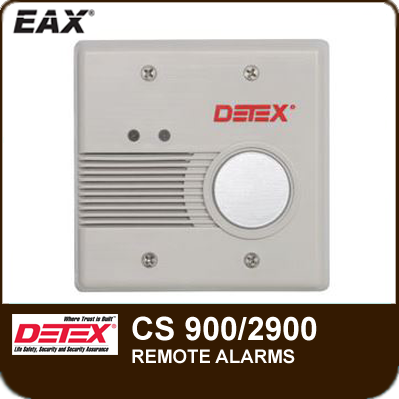 Cs 900 2900 Series Remote Alarms From Detex