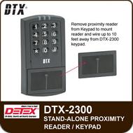 DTX-2300 - Single Door Stand-Alone Proximity Reader/Keypad