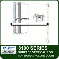 Adams Rite 8100 - Surface Vertical Rod for Wood and Hollow Metal Doors
