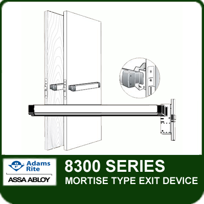 Adams Rite 8300 Mortise Type Exit Device