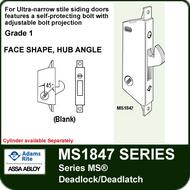 Adams Rite MS1847 - Series MS® Deadlock/Deadlatch