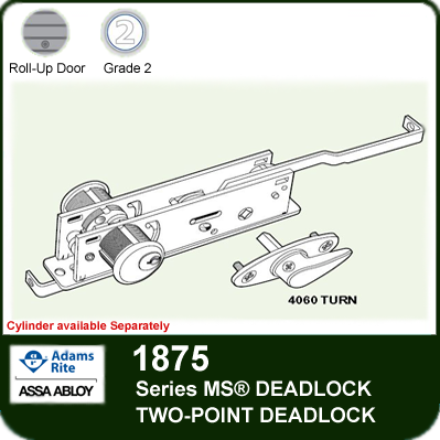 Adams Rite 1875 - Two Point Deadlock