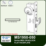 Adams Rite MS1950-050 - Series MS® Deadlock - Flat Faceplate