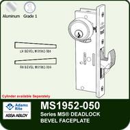 Adams Rite MS1952-050 - Series MS® Deadlock - Bevel Faceplate