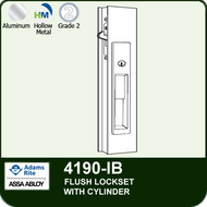 Adams RIte 4190-IB (Individually Boxed) - Flush Locksets (Including Deadlock) - with Cylinder