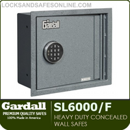 Heavy Duty Concealed Wall Safes | Gardall SL6000/F