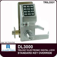 Alarm Lock Trilogy DL3000 - Standard Key Override
