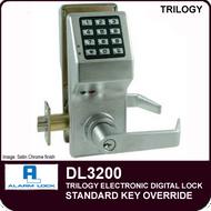 Alarm Lock Trilogy DL3200 - Standard Key Override