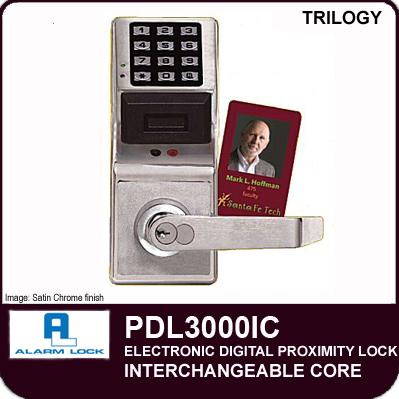 Alarm Lock Trilogy Pdl3000ic Digital Proximity Locks