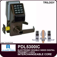 Alarm Lock Trilogy PDL5300IC - ELECTRONIC DOUBLE SIDED DIGITAL PROXIMITY LOCKS - Interchangeable Core