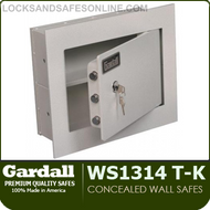 Concealed Wall Safes with 1st Range Feature | Gardall WS1314/WS1317