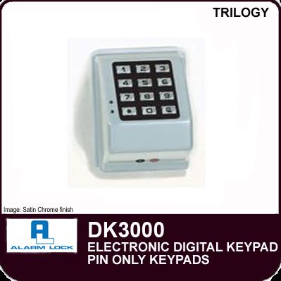 Larm Lock Trilogy Dk3000 Electronic Digital Keypad
