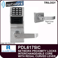 Alarm Lock Trilogy PDL6175IC - NETWORX PROXMITY DIGITAL LOCKS - Interchangeable Core with Regal Curved Lever
