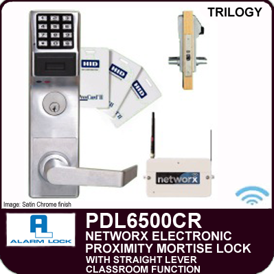 Alarm Lock Trilogy Pdl6500cr Proximity Mortise Locks