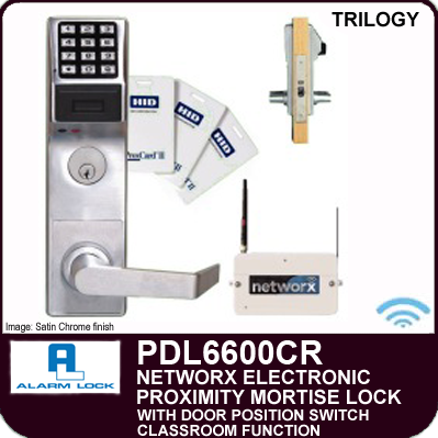 Alarm Lock Trilogy Pdl6600cr Proximity Mortise Locks