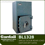 Single Door Rear Loading Depository Safes | Gardall BL1328 | Heavy Duty Depository Safes