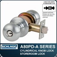 Schlage A80PD - Standard Duty Commercial Storeroom Knob Locks